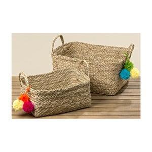 Sada 2 košíkov z morskej trávy Boltze Juanita Largo