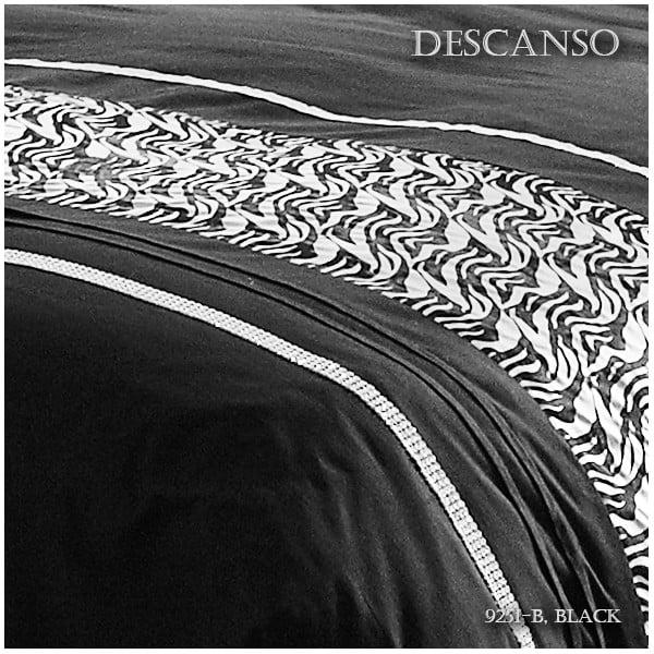 Obliečky Descanso Black Story, 140x200 cm