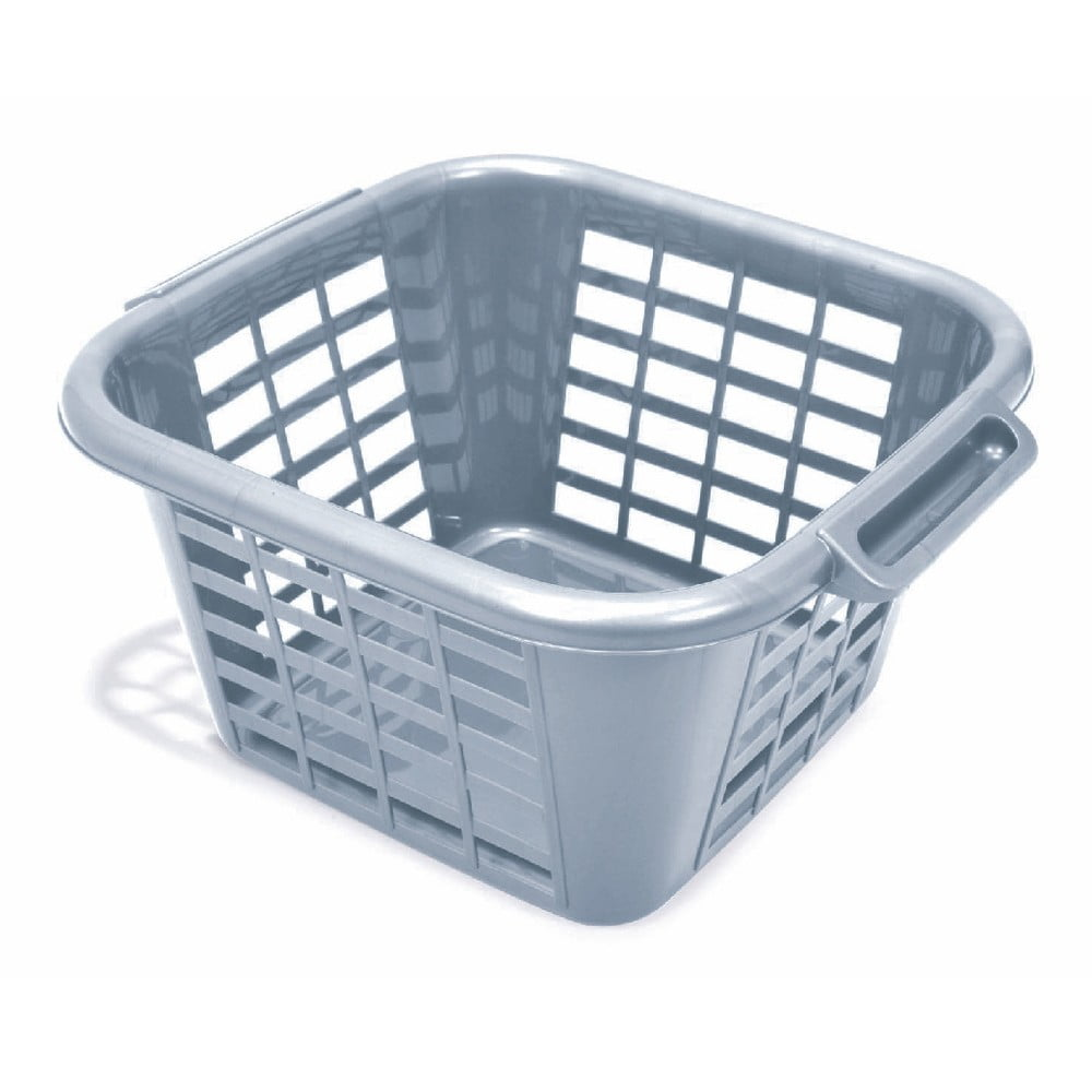 Sivý kôš na prádlo z recyklovaného plastu Addis Eco Range, 24 l