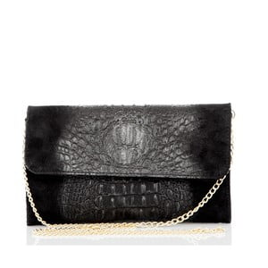 Čierna kožená peňaženka Glorious Black Penny