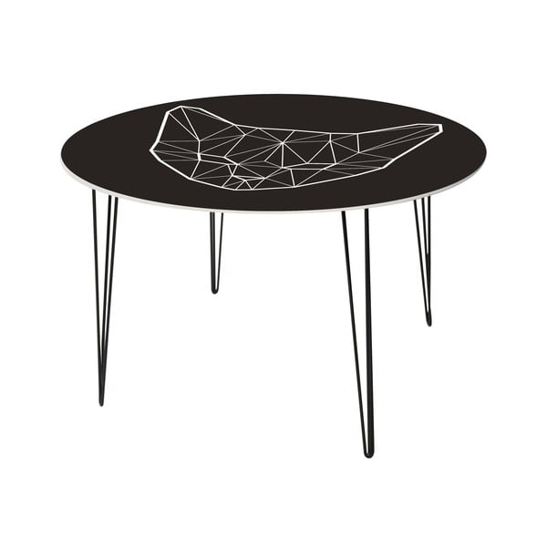 Jedálenský stôl Geometric Cat, 120 cm
