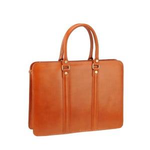 Medovohnedá kožená kabelka Ore Diece Bardo