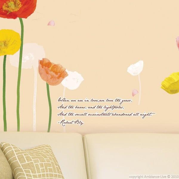Samolepka Fanastick Poppies Flowers