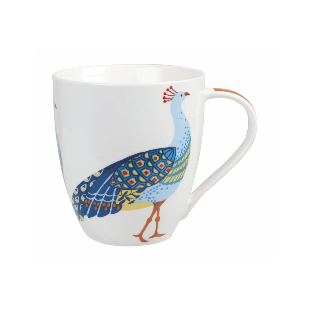 Hrnček z kostného porcelánu Churchill China Couture Peacock, 500 ml