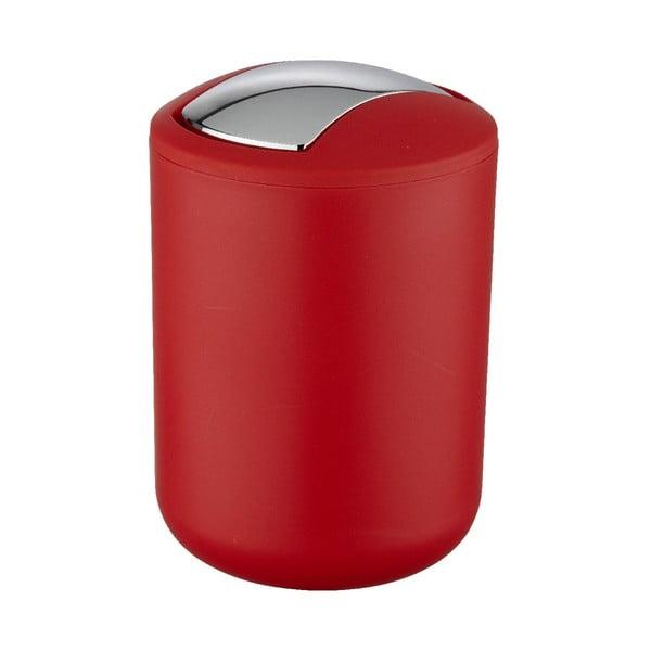 Červený odpadkový kôš Wenko Swing Red S