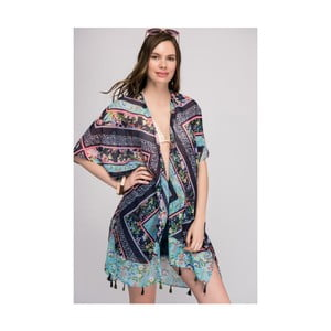 Modrá dámska letná tunika NW Artistic
