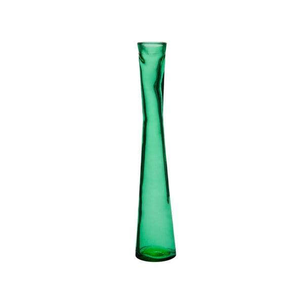 Tmavozelená váza J-Line Day, 30cm