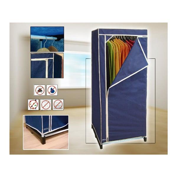 Textilná skriňa na šaty Blue