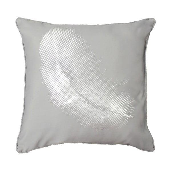 Vankúš Plumette Grey, 40x40 cm