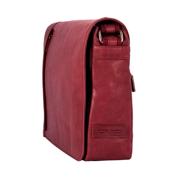 Pánska messenger taška Vintage Bordeaux