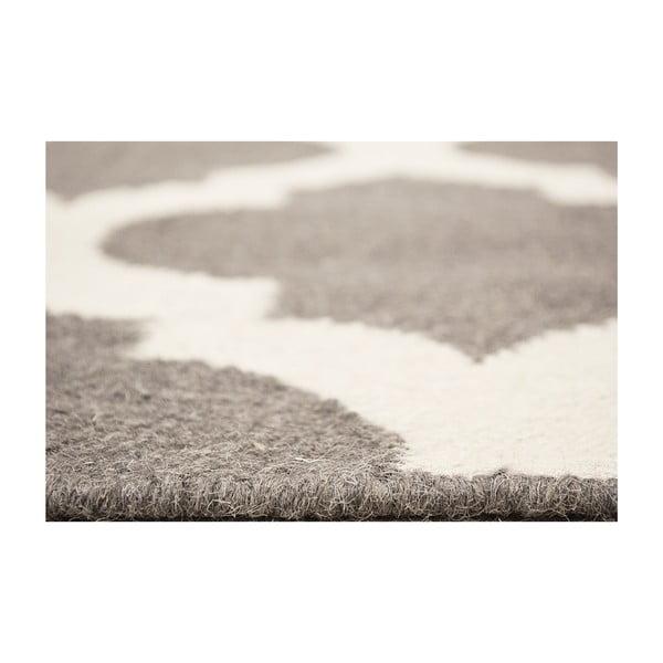 Vlnený koberec Julia Dark Grey, 120 x 180 cm