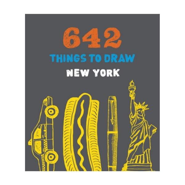 Kniha kreslenia Chronicle Books New York do vrecka