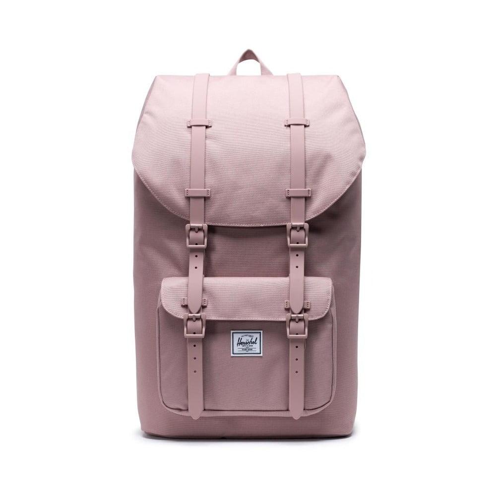 Ružový batoh Herschel Little America, 25 l