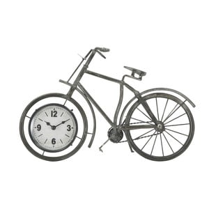 Stolové hodiny v tvare kola Mauro Ferretti, 38,5×25 cm