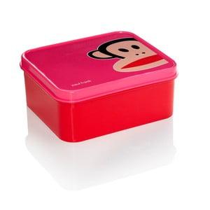 Desiatový box Paul Frank, ružový