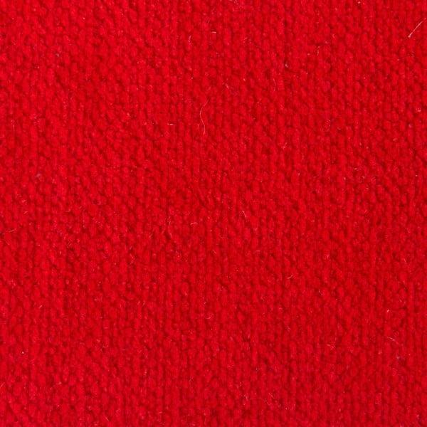 Červený sedací vankúšik s masážnymi loptičkami Linda Vrňáková Bloom, Ø65cm