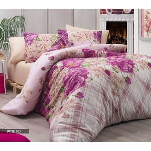 Obliečky s plachtou Rose Lilac, 200x220 cm