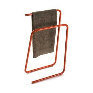 Oranžový kovový stojan na ručníky Versa