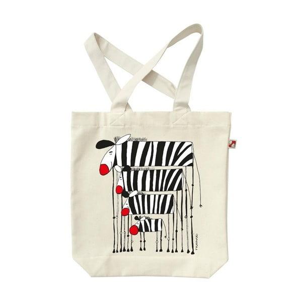 Plátenná taška Zebry