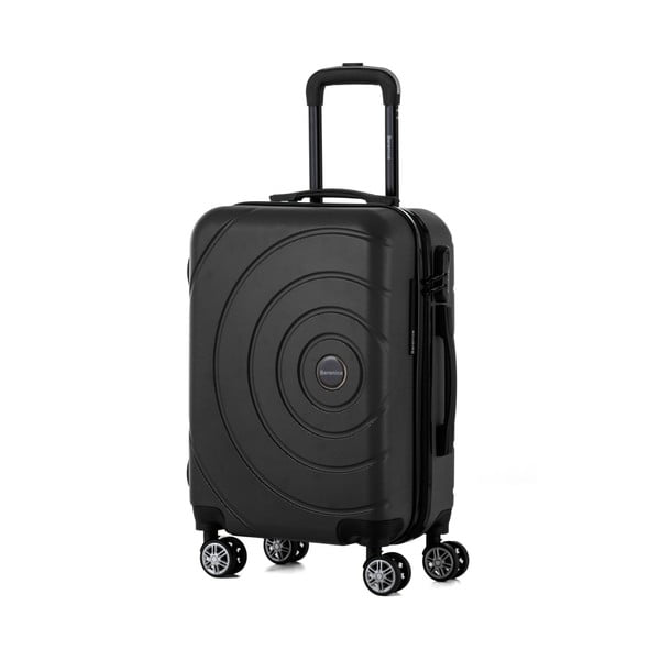 Čierny cestovný kufor Berenice Circle, 44 l