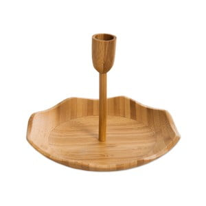 Servírovací podnos s držiakom na špáradlá Bambum Pick, ⌀ 20 cm