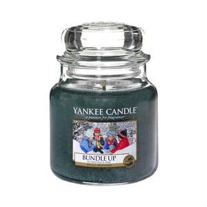 Vonná sviečka Yankee Candle Zababušte sa, doba horenia 65 - 90 hodín