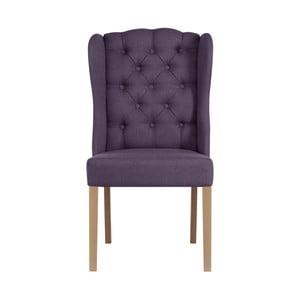 Fialová stolička Jalouse Maison Hailey