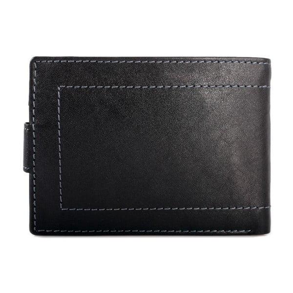 Kožená peňaženka Lois Black, 10x7,5 cm