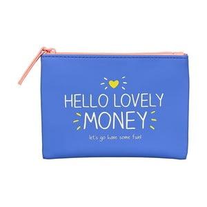 Modrá peňaženka na drobné Happy Jackson Money
