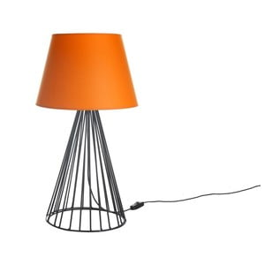 Stolová lampa Wiry Orange/Black