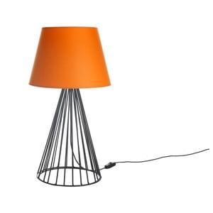 Stolová lampa Wiry Orange/Black