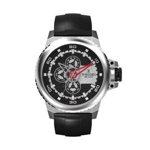 Pánske hodinky WWW 1991, Metallic/Black