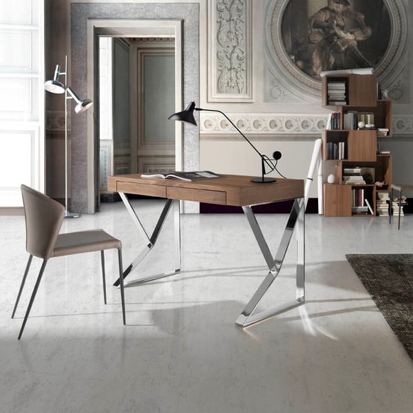 Pracovný stôl Ángel Cerdá Walnut Smooth