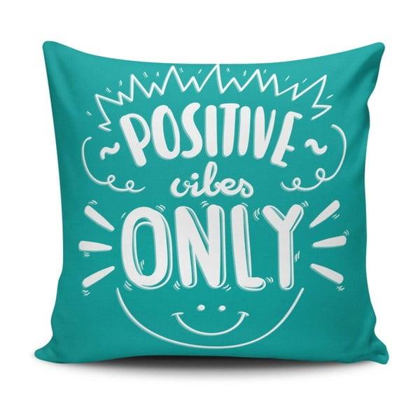 Vankúš s prímesou bavlny Cushion Love Only, 45 × 45 cm
