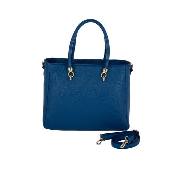 Kožená kabelka Andrea Cardone 2010 Blue Cobalto