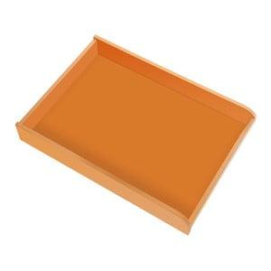 Oranžový prebaľovací pult na komodu Vox Meee
