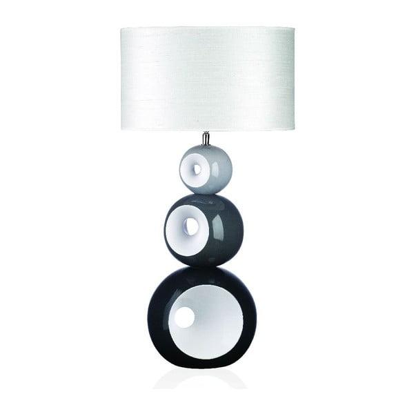 Stolová lampa Orion, sivá