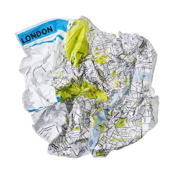 Pokrčená cestovná mapa Palomar Londýn