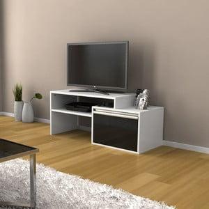 Televízny stolík Torino Black