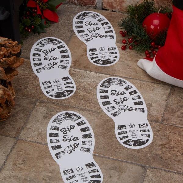 Sada 12 papierových dekorácií Neviti Dear Santa, 10 x 24 cm