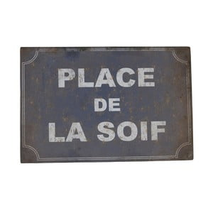 Plechová ceduľa Antic Line De La Soif