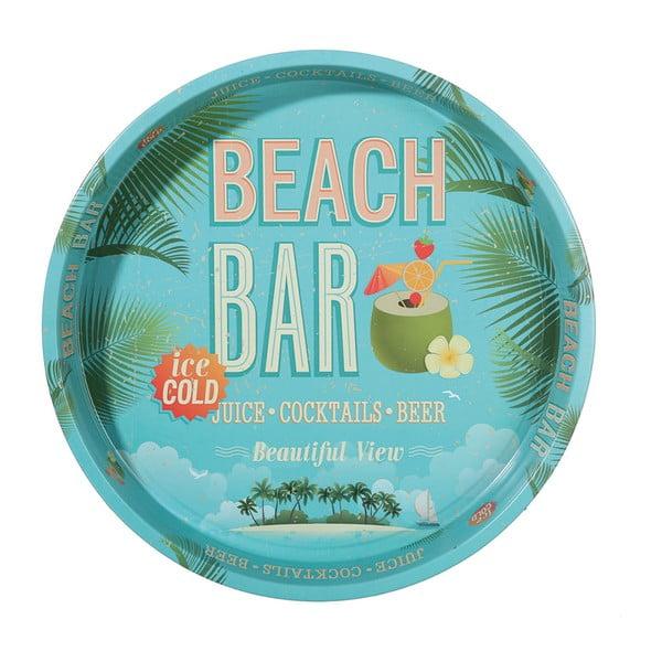 Okrúhly podnos Postershop Beach Bar