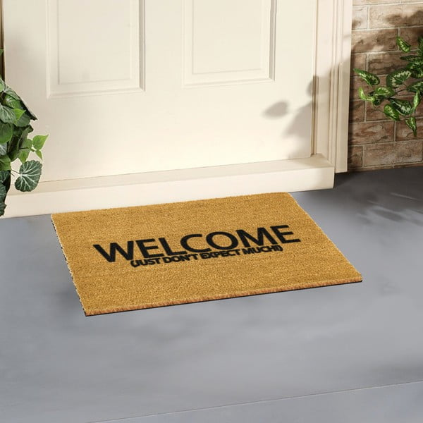 Rohožka Artsy Doormats Welcome Don't Expect Much, 40 x 60 cm