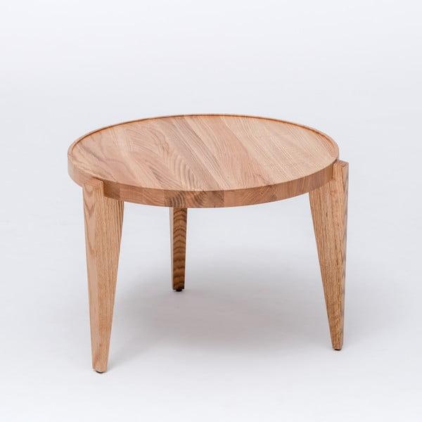 Dubový kávový stolík Bontri, 60x50 cm