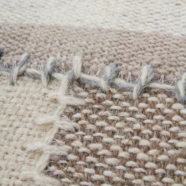 Vlnený koberec Omnia no. 3, 120x170 cm