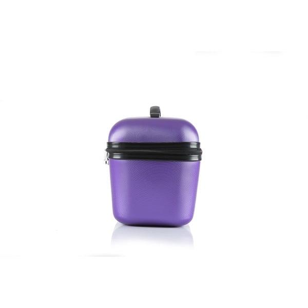 Cestovná taška Brand Developpement Vanity, fialová