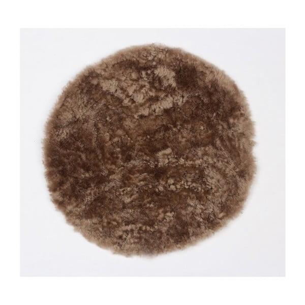 Prestieranie z ovčej kožušiny Latte, 35 cm