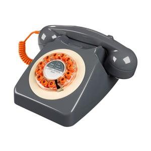 Retro funkčný telefón Serie 746 Grey