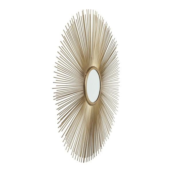 Nástenné zrkadlo Kare Design Sunbeam, Ø90cm