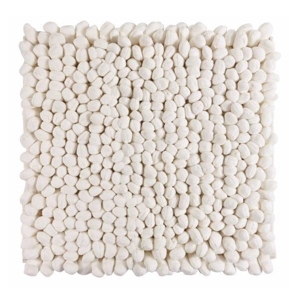 Kúpeľňová predložka Bodhi Ivory, 60x60 cm